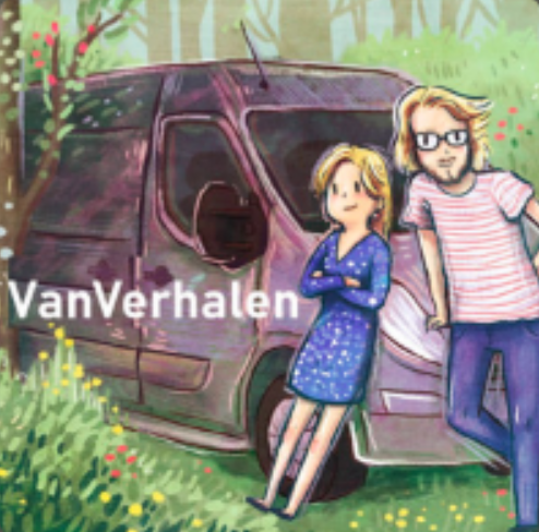 Vanaf de Oprit - de nieuwste podcast serie van VanVerhalen!