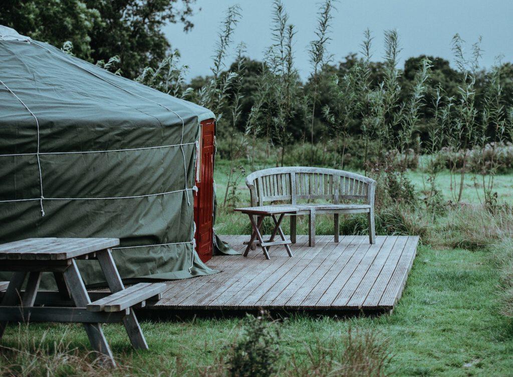 Yurt in Nederland - Foto door Annie Spratt via Unsplash